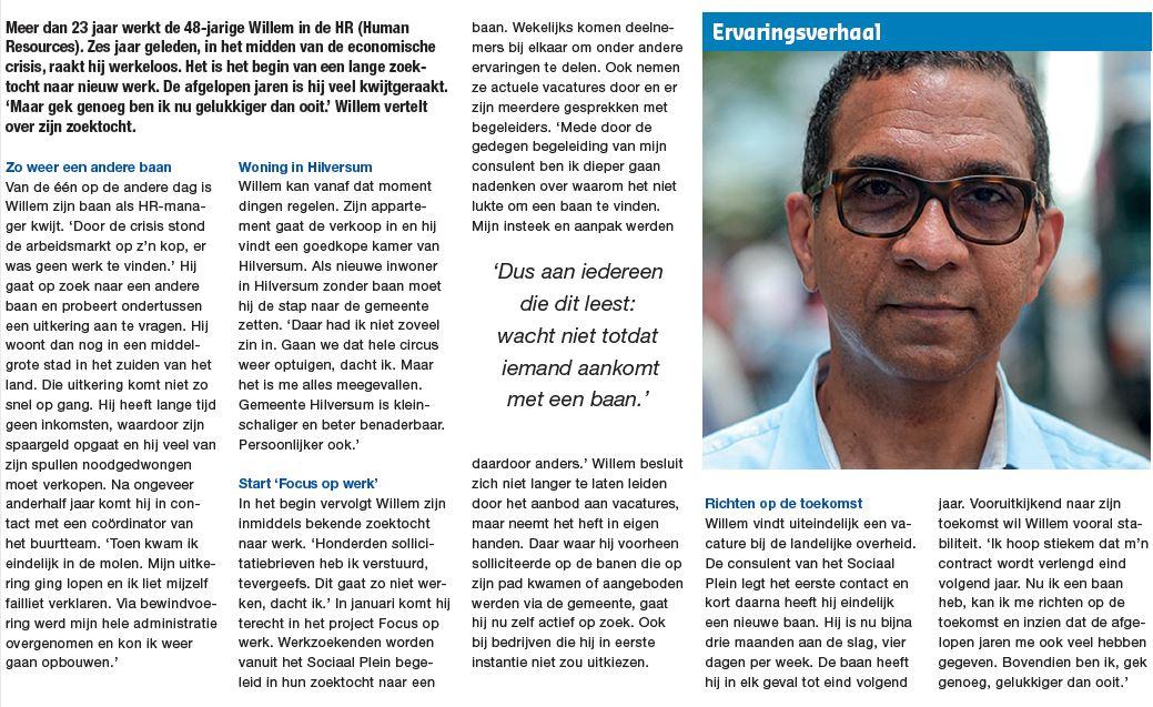 Ik sprak de 48-jarige Willem
